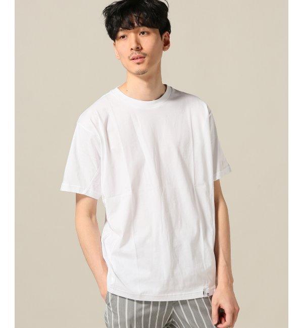 ADIDAS ORIGINALS / アディダス オリジナルス XBYO SS Tシャツ【エディフィス/EDIFICE メンズ Tシャツ・カットソー ホワイト ルミネ LUMINE】