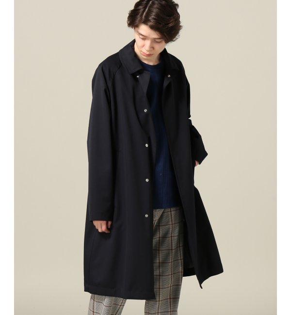 メンズファッションオススメ|【エディフィス/EDIFICE】 FUNCTIONウールスナップボタンステンコート [送料無料]