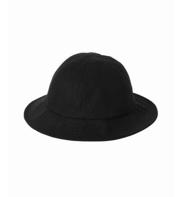 BASE MFG / ベースエムエフジー COTTON TWILL BELL HAT【エディフィス/EDIFICE メンズ その他(帽子) ブラック ルミネ LUMINE】