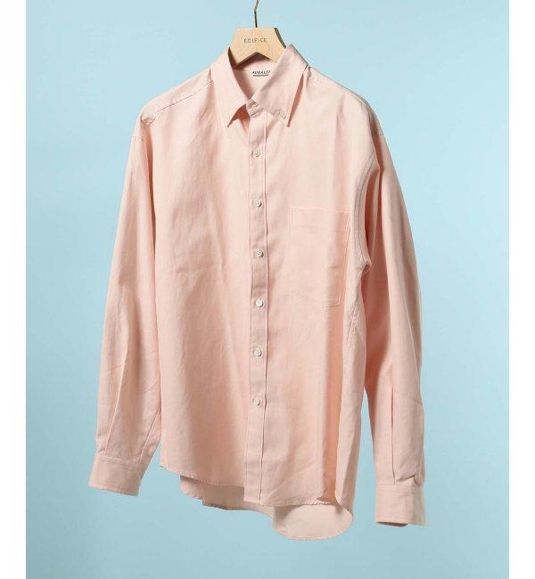 【エディフィス/EDIFICE】 AURALEE / オーラリー フィンクスシャトル ボタンダウンシャツ