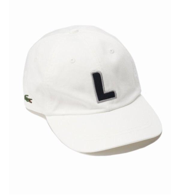 【エディフィス/EDIFICE】 LACOSTE / ラコステ 6PANEL L CAP