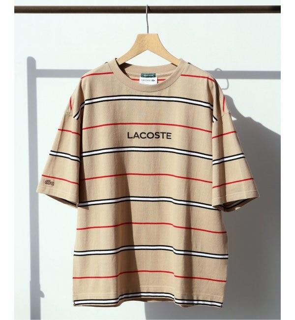 【エディフィス/EDIFICE】 《予約》LACOSTE / ラコステ別注 ボーダーTシャツ