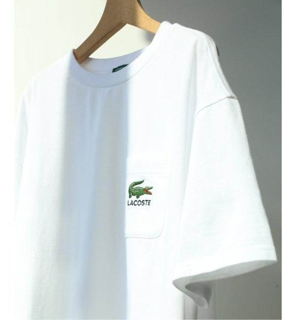 【エディフィス/EDIFICE】 LACOSTE / ラコステ別注 ポケットロゴTシャツ
