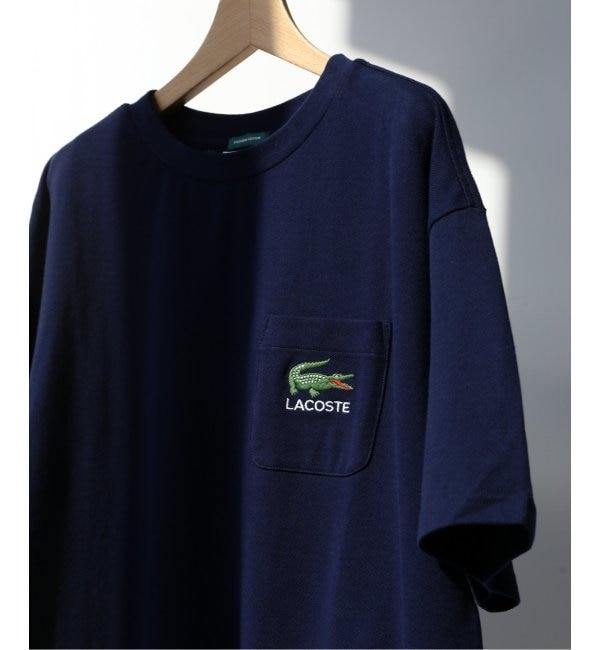 【エディフィス/EDIFICE】 《予約》LACOSTE / ラコステ別注 ポケットロゴTシャツ