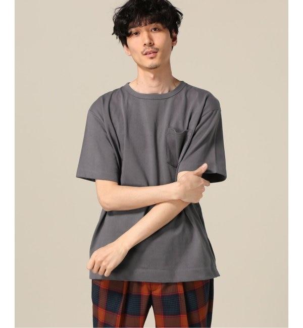 【エディフィス/EDIFICE】 20/ドツメテンジククルーネック S/S