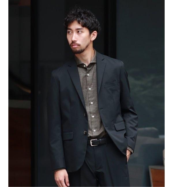 【エディフィス/EDIFICE】 SOLOTEX ツイル 2ボタン ジャケット