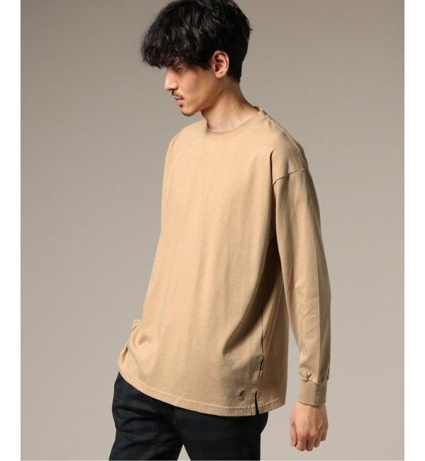 【エディフィス/EDIFICE】 KANGOL / カンゴール ×417 別注 ONE POINT ロンスリーブ Tシャツ