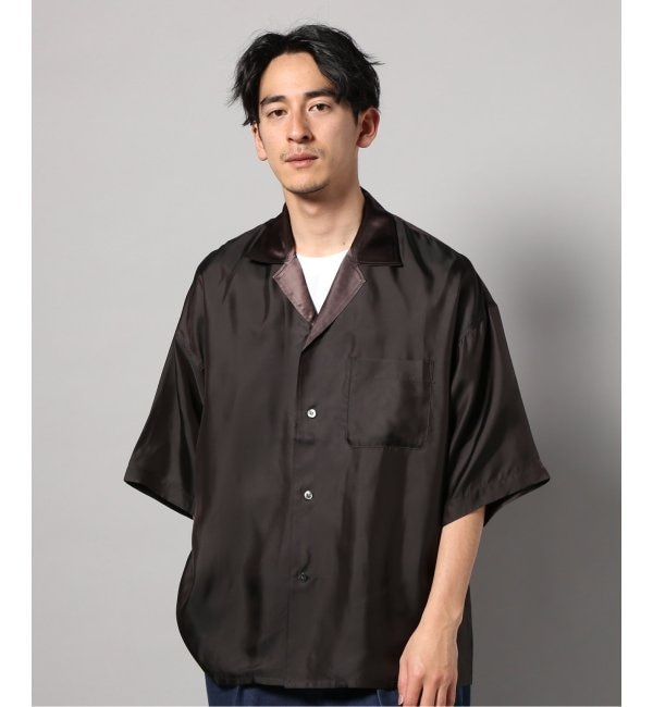 【エディフィス/EDIFICE】 7X7 / SEVEN BY SEVEN OPEN COLLER SHIRTS S/S