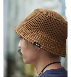 【RACAL / ラカル】417 別注 KNIT BUCKET HAT