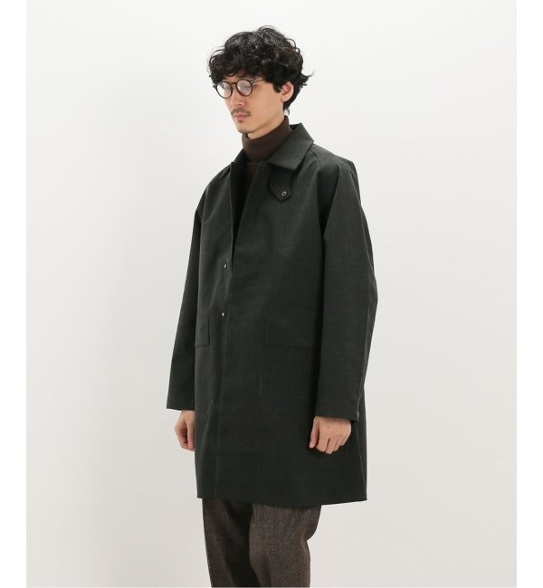 メンズファッションなら|【エディフィス/EDIFICE】 【DESCENTE PAUSE / デサントポーズ】WOOL MIX ステンカラーコート