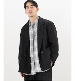 【AiE / エーアイイー】 EZ JACKET SNAKESKIN FLOCKING PRINT
