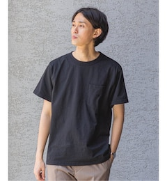 【THE NORTH FACE PURPLE LABEL】7oz H/S Pocket Tee