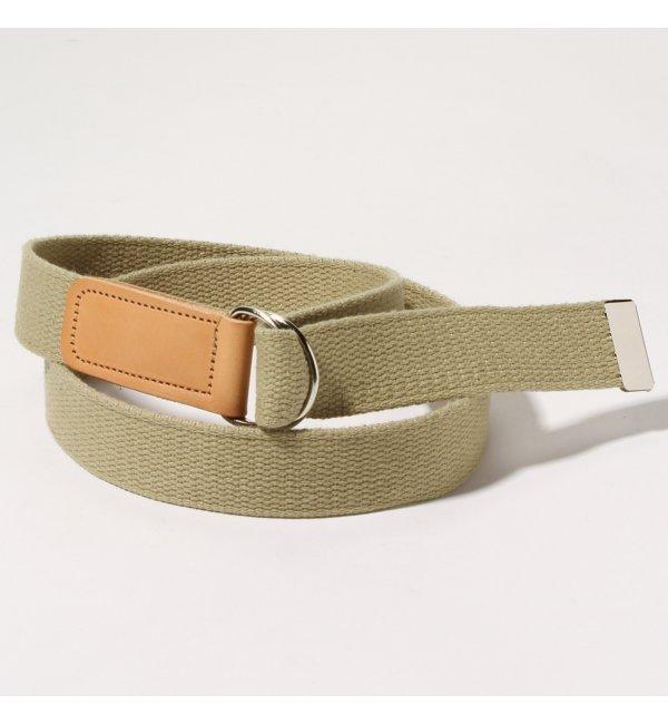 【ジャーナルスタンダード/JOURNAL STANDARD】 SUSPENDER FACTORY / サスペンダーファクトリー: ring belt / ベルト [3000円(税込)以上で送料無料]
