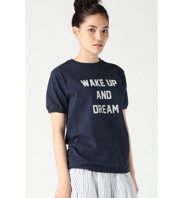 【ジャーナルスタンダード/JOURNAL STANDARD】 【Goodwear/グッドウェア】 WAKE UP リブ Tシャツ [送料無料]
