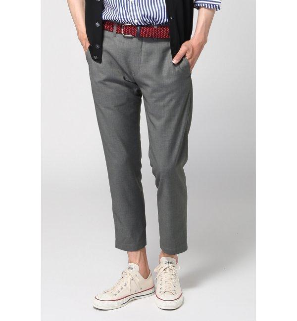 モテ系メンズファッション T/Rアンクルスラックス / パンツ