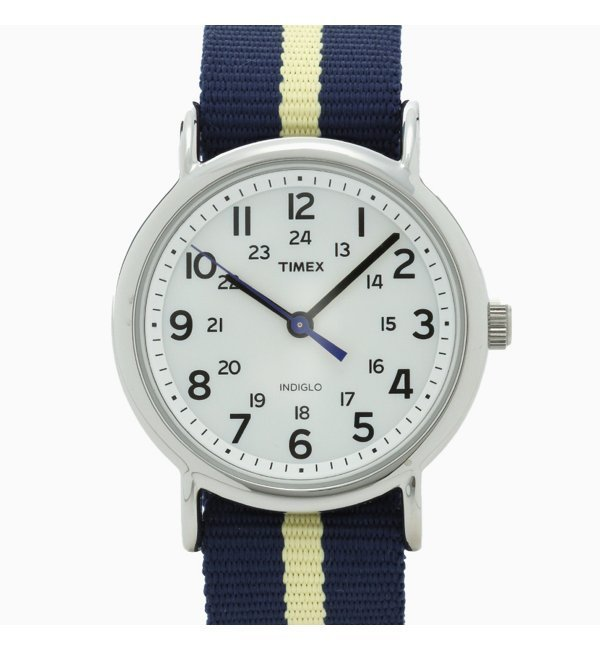 【TIMEX】 Weekender Central Park【ジャーナルスタンダード/JOURNAL STANDARD レディス 腕時計 ホワイト ルミネ LUMINE】