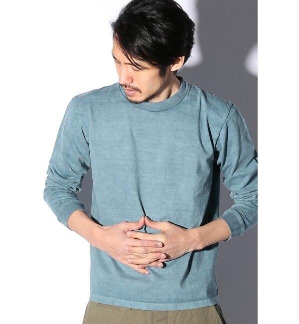 【ジャーナルスタンダード/JOURNAL STANDARD】 CUT DOWN ロングスリーブTシャツ ピグメント [送料無料]