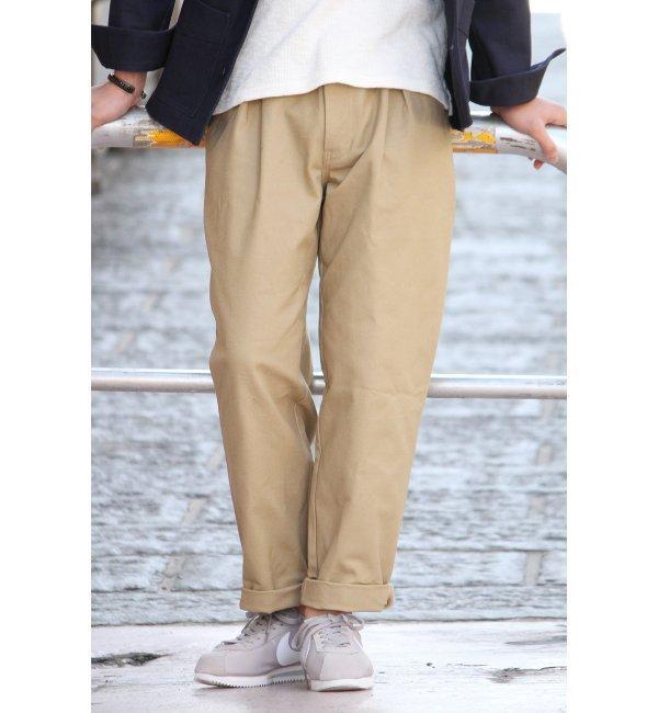 【ジャーナルスタンダード/JOURNAL STANDARD】 綾目フレンチタックワークパンツ◆ [送料無料]