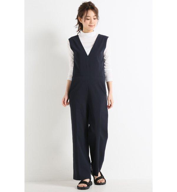 【ジャーナルスタンダード/JOURNAL STANDARD】 Vバック ジャンプスーツ [送料無料]