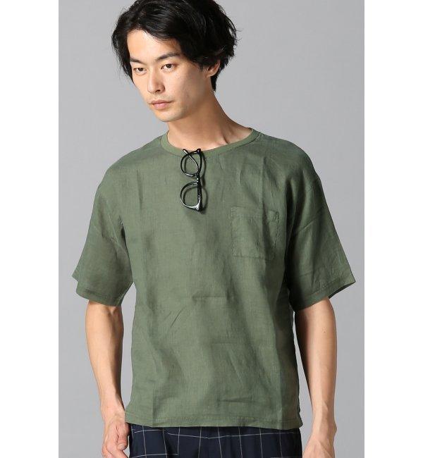 【ジャーナルスタンダード/JOURNAL STANDARD】 NO.66 リネンTシャツ◆ [送料無料]