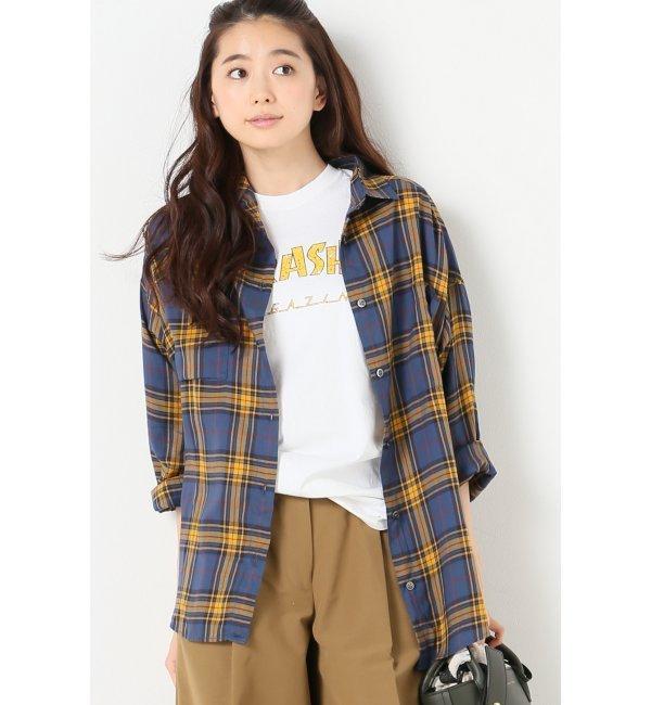 【ジャーナルスタンダード/JOURNAL STANDARD】 プロビスチェック 2WAYシャツ◆ [送料無料]