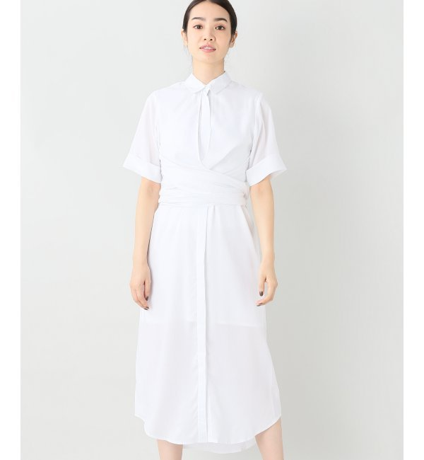【ジャーナルスタンダード/JOURNAL STANDARD】 【OSKAR/オスカー】 Rosy Outlook Shirt Dress:シャツワンピース [送料無料]
