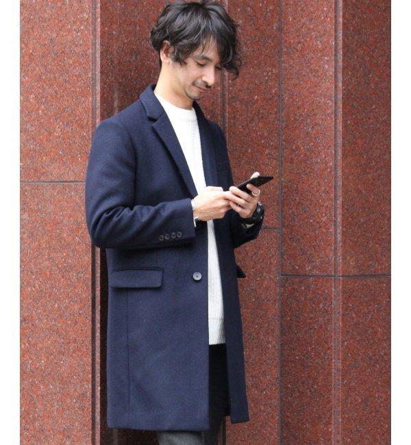 【ジャーナルスタンダード/JOURNAL STANDARD】 Oriens Wool SUPER100'S チェスターコート◆ [送料無料]