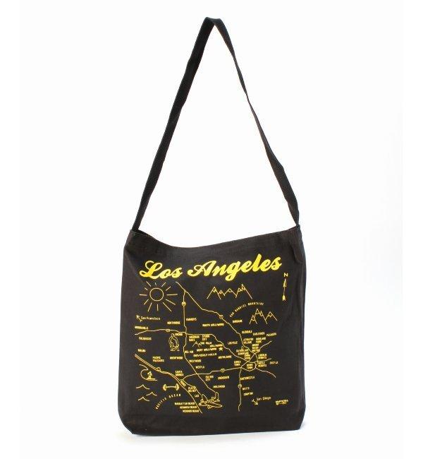【ジャーナルスタンダード/JOURNAL STANDARD】 MAP TOTE / マップトート : LOS ANGELES [送料無料]