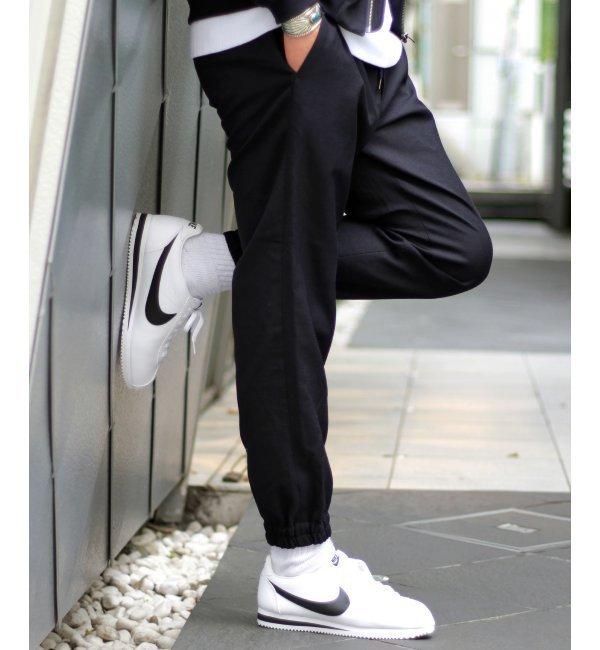 メンズファッションなら|【ジャーナルスタンダード/JOURNAL STANDARD】 Arles Wool ウェザージョガーパンツ◆ [送料無料]