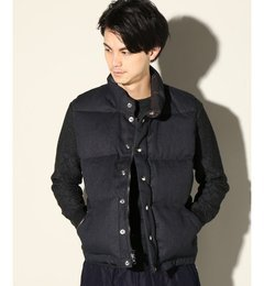 CRESENT DOWN WORKS j.s.homestead別注 Italian Vest【ジャーナルスタンダード/JOURNAL STANDARD ダウン】