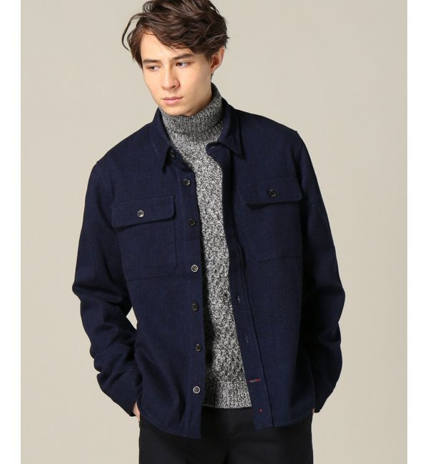 【ジャーナルスタンダード/JOURNAL STANDARD】 APOLIS / アポリス:Indigo Wool CPO Jacket [送料無料]