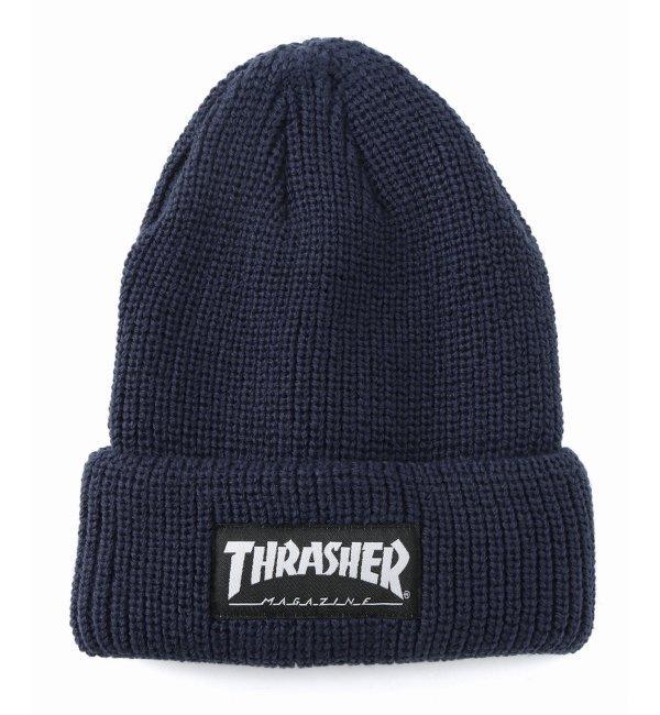 THRASHER / スラッシャー : リブアミビーニー【ジャーナルスタンダード/JOURNAL STANDARD ニット帽】