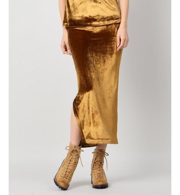【ジャーナルスタンダード/JOURNAL STANDARD】 【M.MARTIN/エム マーティン】main Column skirt:タイトスカート [送料無料]