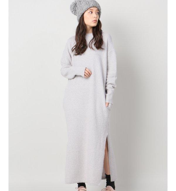 【ジャーナルスタンダード/JOURNAL STANDARD】 【M.MARTIN/エム マーティン】main sweater Dress:ニットワンピース [送料無料]