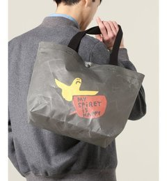 人気ファッションメンズ 【ジャーナルスタンダード/JOURNAL STANDARD】 KIRUNA×GONZ / キルナ別注マークゴンザレス : TOTE BAG [送料無料]