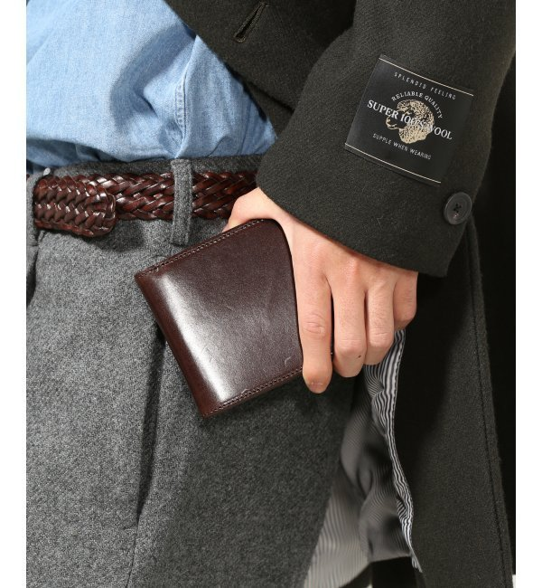 【ジャーナルスタンダード/JOURNAL STANDARD】 BI-FOLD WALLET / 二つ折り財布 [送料無料]