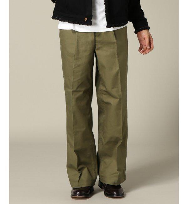 【ジャーナルスタンダード/JOURNAL STANDARD】 BEN DAVIS MARKET/ ベンデイビスマーケットストリート : STREET Waist Tack Pants [送料無料]