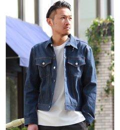 【ジャーナルスタンダード/JOURNAL STANDARD】 本藍染めストレッチデニムジャケット [送料無料]