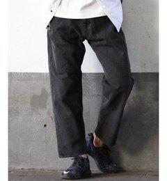 【ジャーナルスタンダード/JOURNAL STANDARD】 バギーブラックデニム [送料無料]