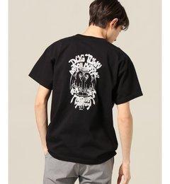 Murray Tee【ジャーナルスタンダード/JOURNAL STANDARD メンズ Tシャツ・カットソー ブラック ルミネ LUMINE】