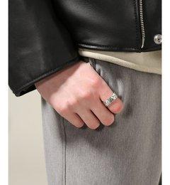 【ジャーナルスタンダード/JOURNAL STANDARD】 NORTH WORKS / ノースワークス:900 Silver Stamp Ring [送料無料]