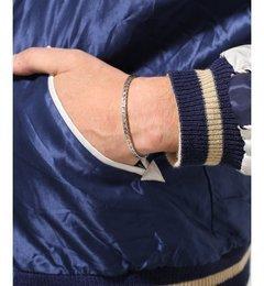 【ジャーナルスタンダード/JOURNAL STANDARD】 NORTH WORKS / ノースワークス:900 Silver Square Cuff Bracelet [送料無料]