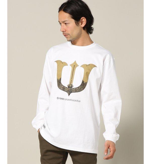 Evisen skateboads /エビセン : KABUTO LS【ジャーナルスタンダード/JOURNAL STANDARD メンズ Tシャツ・カットソー ブラック ルミネ LUMINE】