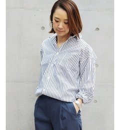 【ジャーナルスタンダード/JOURNAL STANDARD】 60タイプライターコクーンシャツ◆ [送料無料]