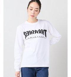【THRASHER/スラッシャー】 BACKWARD L/S TEE:カットソー【ジャーナルスタンダード/JOURNAL STANDARD Tシャツ・カットソー】
