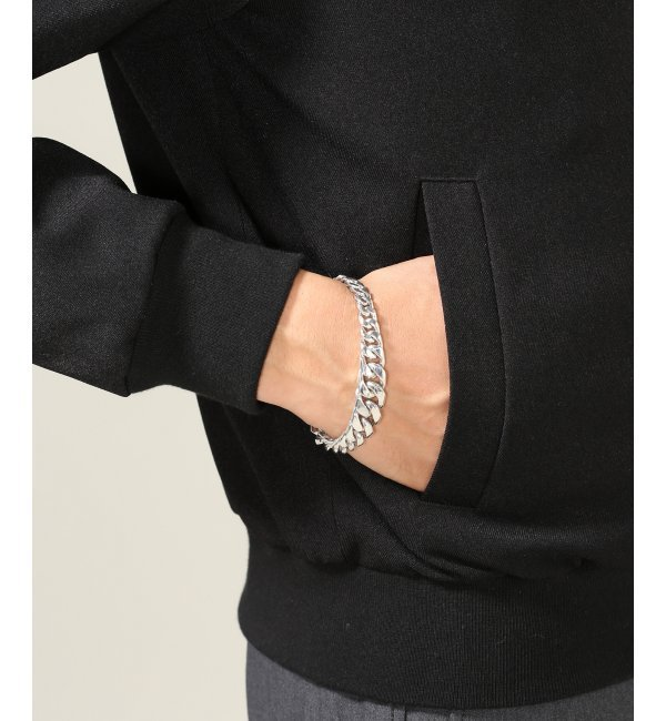 LAVER / ラバー : Mix Curb Chain Tbar Bracelet【ジャーナルスタンダード/JOURNAL STANDARD メンズ ブレスレット・バングル シルバー ルミネ LUMINE】