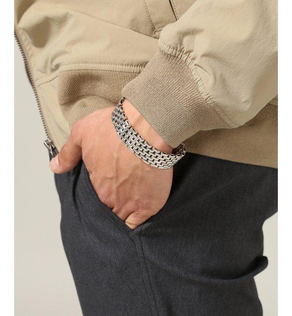 LAVER / ラバー : 7-Link Bracelet【ジャーナルスタンダード/JOURNAL STANDARD メンズ ブレスレット・バングル シルバー ルミネ LUMINE】