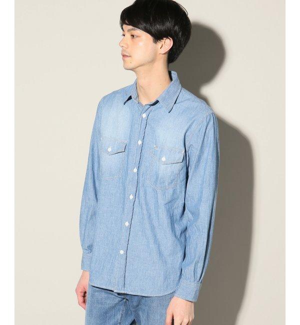 【ジャーナルスタンダード/JOURNAL STANDARD】 5ozシャンブレー ワークシャツ [送料無料]
