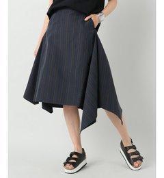 【ジャーナルスタンダード/JOURNALSTANDARD】【08SIRCUS/08サーカス】stripeasymmetryskirt:スカート[送料無料]