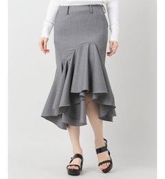 【ジャーナルスタンダード/JOURNALSTANDARD】【FACETASM/ファセッタズム】Woolドレープスカート[送料無料]